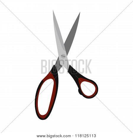 Dressmake shear flat icon
