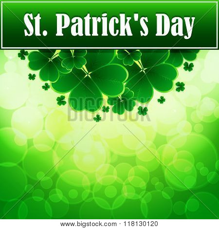 St. Patricks Day greeting.