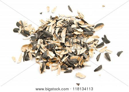Husks Of Sunflower Seeds