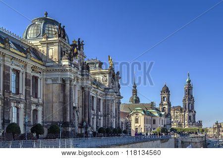 Bruhl Terrace, Dresden, Germany