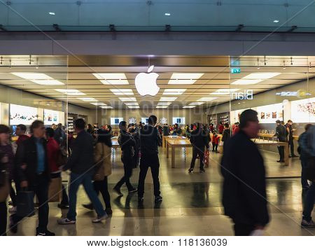 Apple Store In Parquesur Madrid