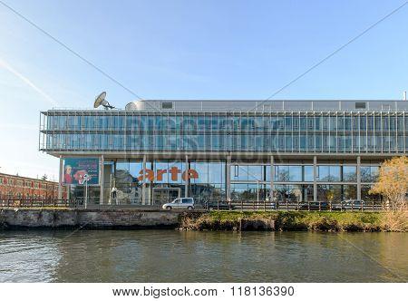 Arte Tv Channel Headquarter In Strasbourg