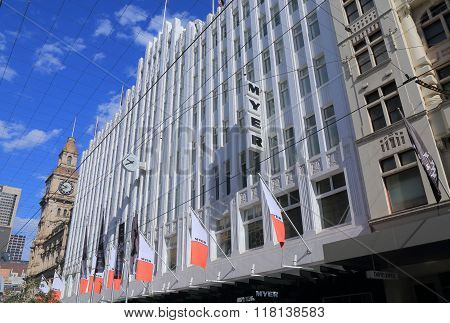 Myer department store Melbourne Australia