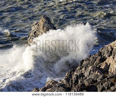 Big Storm In Portovenere