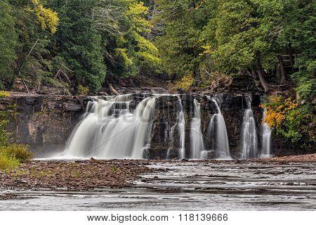 Manabezho Falls Autumn