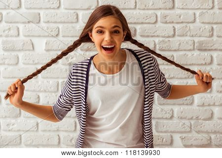 Cute Teenage Girl