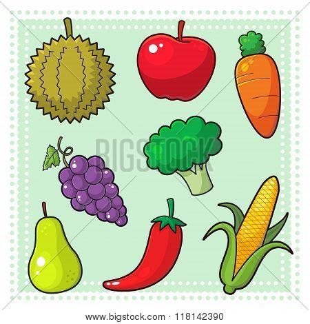 Fruits & Vegetables 01