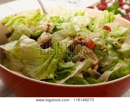 Freshly Made Healthy Salad