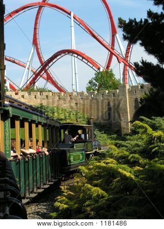 Train To Roller Coaster