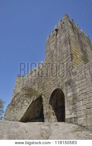 Tower Of Guimaraes Castle