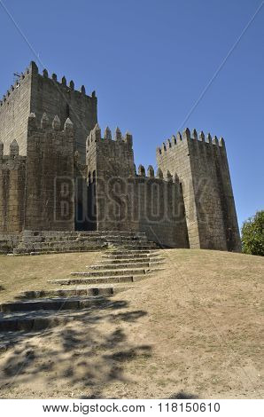 Path To Guimaraes Castle
