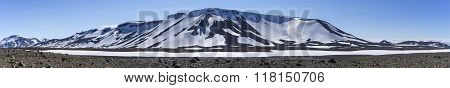 Volcano Panorama, South Western Highlands Iceland
