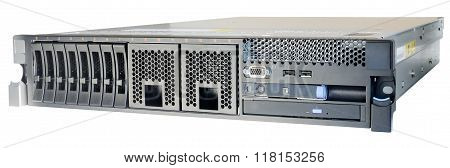 Rackmount Server Isolated