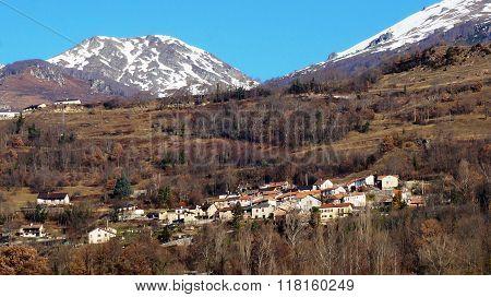 Landscape Of Europe Village