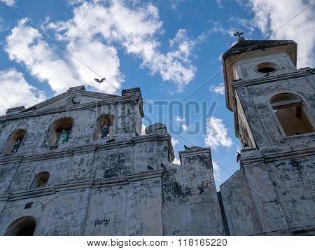 Church Facade in Granada