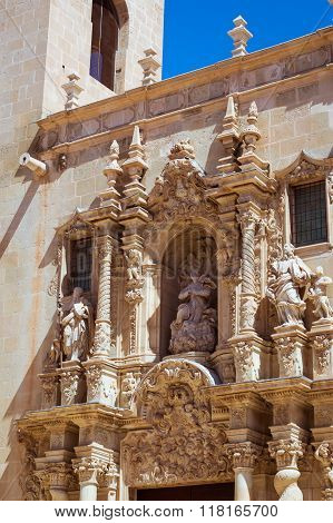 Basilica Of Santa Maria, Alicante, Valencia, Spain