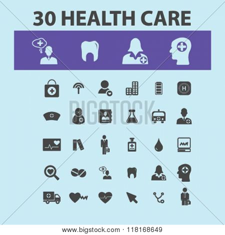 health care, icons, health care and safety, health insurance, medicine icons