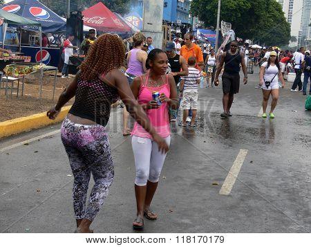 Happy Carnival In Panama