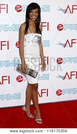 Shaun Robinson at the 37th Annual AFI LIfetime Achievement Awards held at the Sony Pictures Studios in Culver City, USA on June 11, 2009.