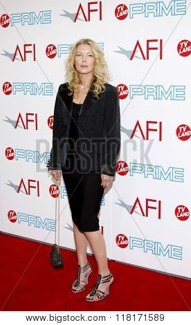 Deborah Kara Unger at the 37th Annual AFI LIfetime Achievement Awards held at the Sony Pictures Studios, California, United States on June 11, 2009.