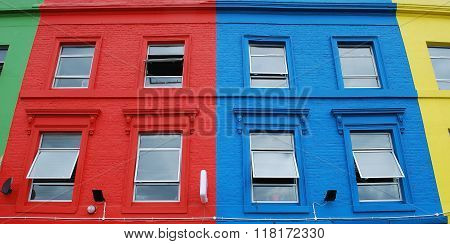 Very colourful building