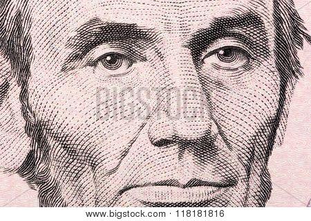 Abraham Lincoln a close-up portrait