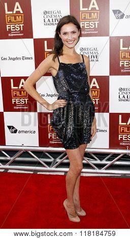 Laura Perloe at the 2012 Los Angeles Film Festival premiere of
