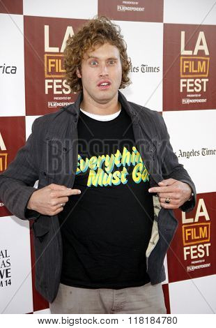 T.J. Miller at the 2012 Los Angeles Film Festival premiere of