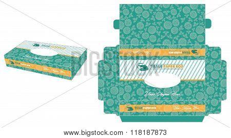 Minimalist Tissue Paper Box