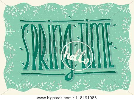 Hello Spring Time