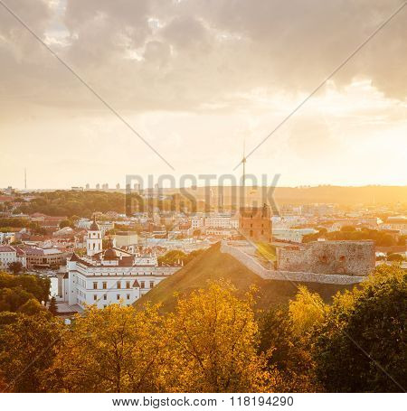 Vilnius Upper Castle with Tower Of Gediminas