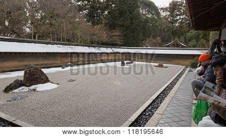 Kyoto, A Rock Garden