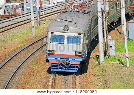 Suburban Electric Train Locomotive