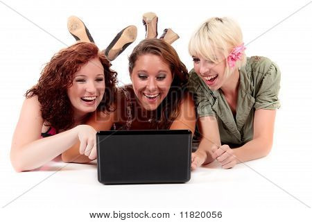 Three Young Attractive Women