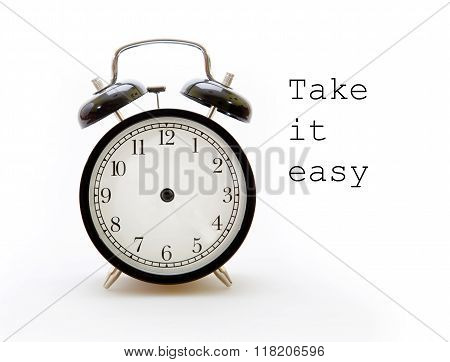 Take Your Time In The Alarm Clock