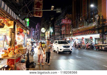 chinatown of bangkok