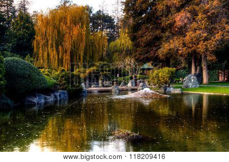 Gardens And Water