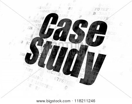 Studying concept: Case Study on Digital background