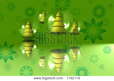 Christmas Background - Green