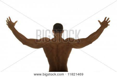 Construtor do corpo para trás