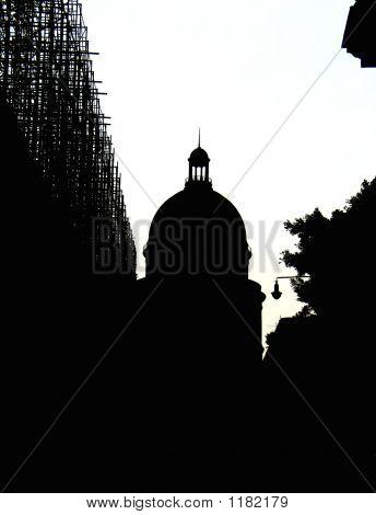 Havana City Silhouette