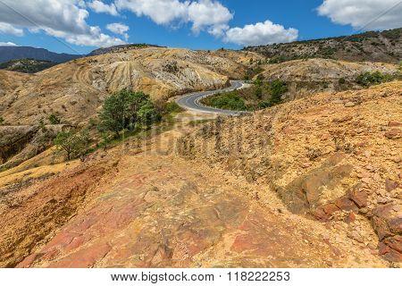 Gravel road Tasmania