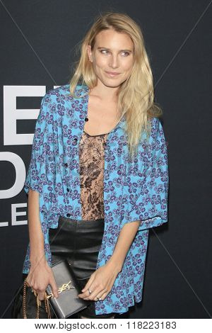 LOS ANGELES - FEB 10:  Dree Hemingway at the SAINT LAURENT At The Palladium at the Hollywood Palladium on February 10, 2016 in Los Angeles, CA