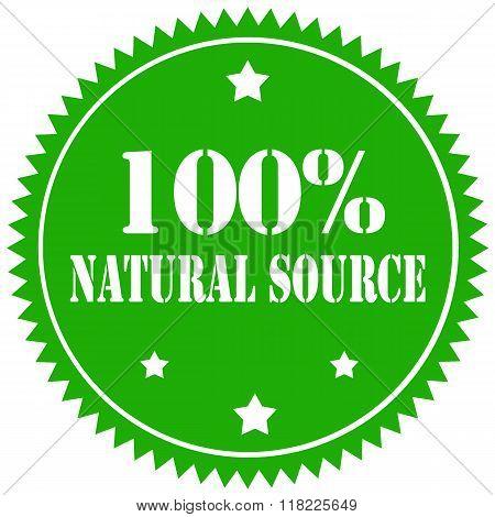 Natural Source-stamp