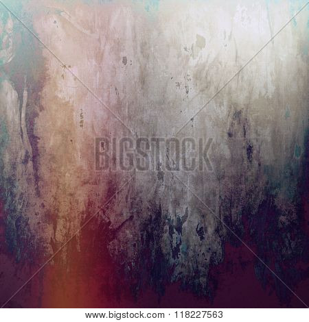 Art grunge vintage textured background. With different color patterns: yellow (beige); brown; cyan; purple (violet); gray