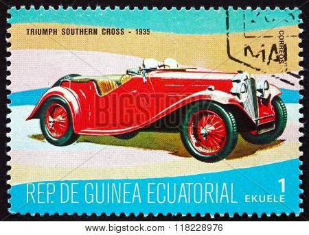 Postage Stamp Equatorial Guinea 1977 Triumph Southern Cross
