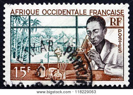 Postage Stamp France 1953 Medical Laboratory