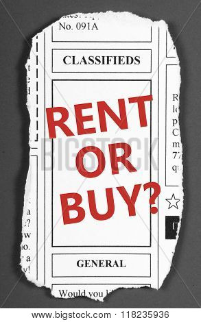 Rent or Buy?