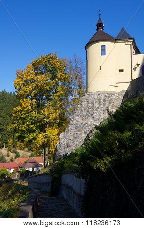 Cesky Sternberk castle in Czech republic.