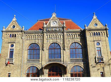 Old train station of Arad, Romania, Europe